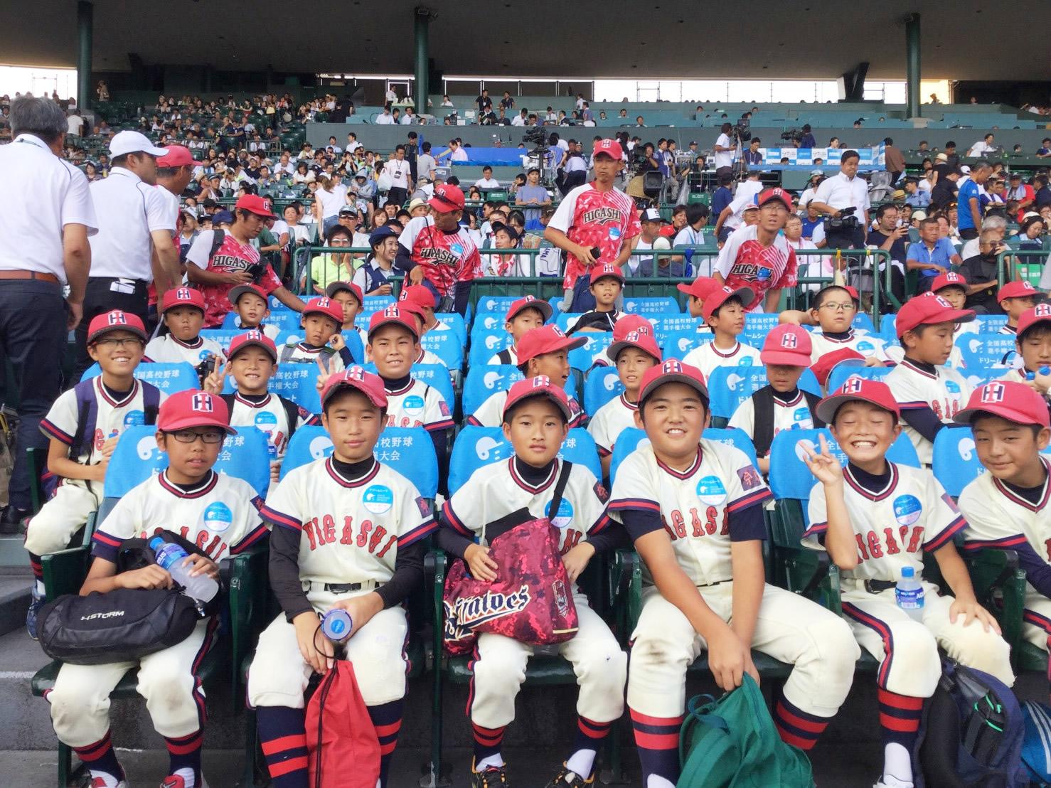 全国夏の高校野球準々決勝をドリームシートで観戦しました。|2019.8.18