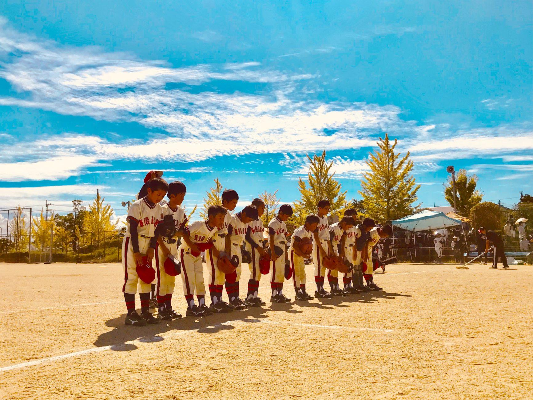 低学年学童郡山大会〜準々決勝|2019.9.29